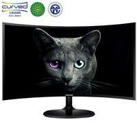 三星(SAMSUNG)27英寸1800R曲面 广视角可壁挂 HDMI高清接口 电脑液晶显示器 (C27F390FHC)